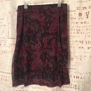 Kathie Lee Collection Women's Skirt Size 12 ....A6